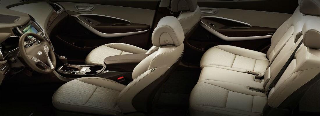 Interior. Much Like The Exterior, The Interior Of The Hyundai Santa Fe Sport  ...