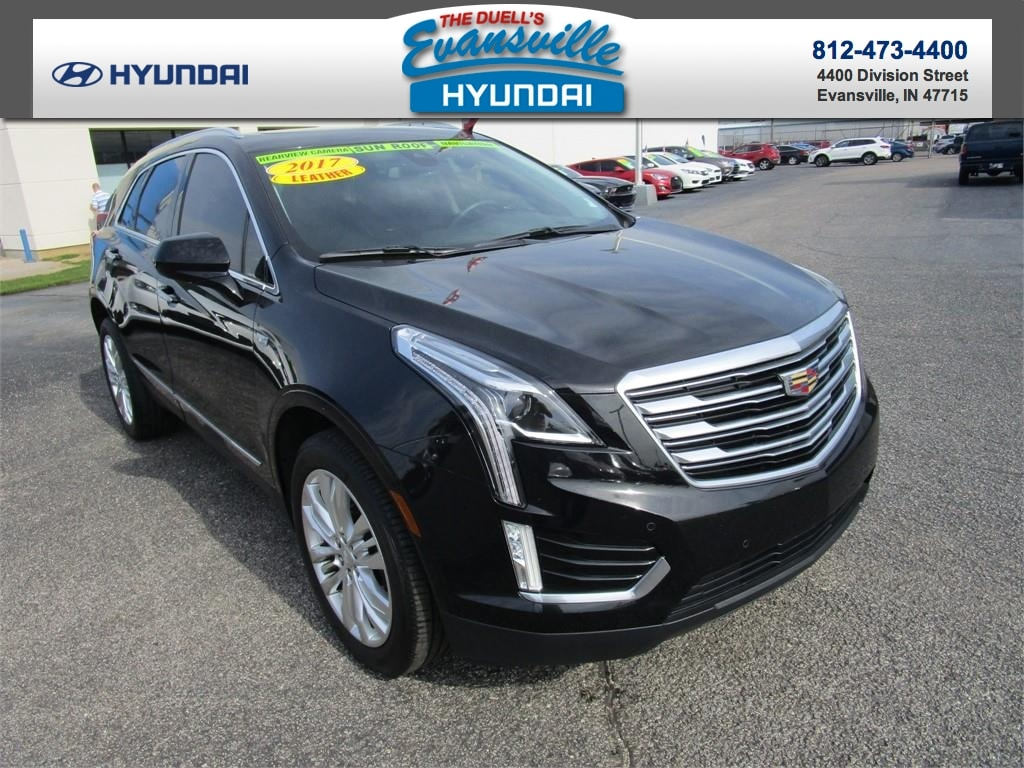 Used 2017 cadillac xt5 for sale at evansville hyundai vin 1gykncrs3hz151478