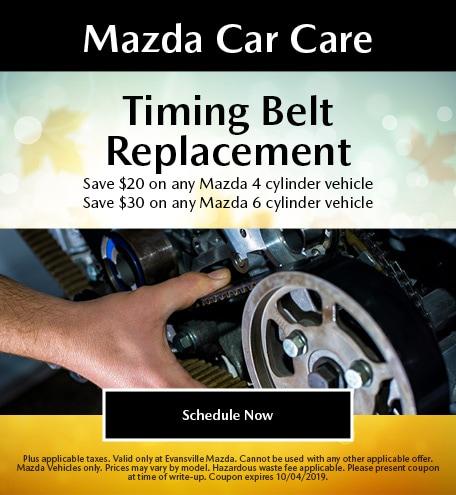 Mazda Car Care - Timing Belt Replacement