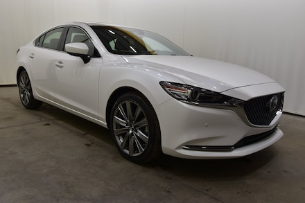 New 2019 Mazda Mazda6 Signature Sedan for Sale in Evansville, IN, at Magna Motors