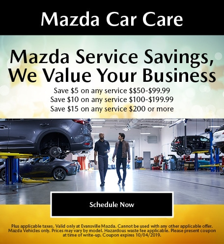 Mazda Service Savings | We Value Your Business