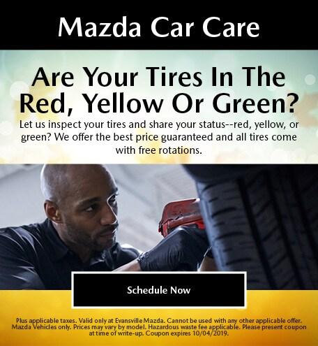 Mazda Car Care - Tires