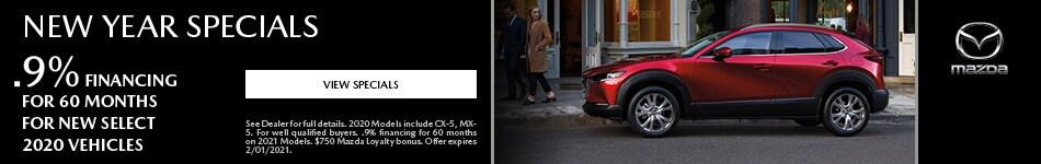 New Year Specials - Mazda