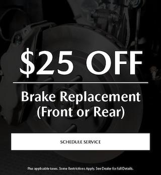Brake Special - $25