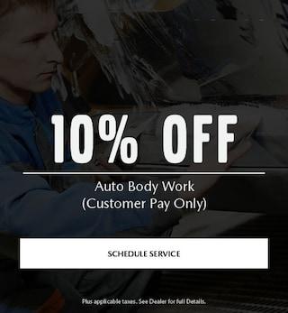 10% Off AutoBody Work