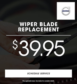 Volvo - Wiper Blade Replacement