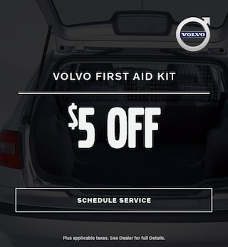 $5 Off First Aid Kit - Volvo
