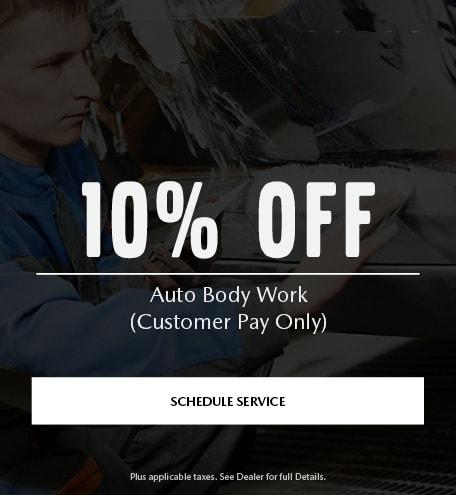 Auto Body Work Special