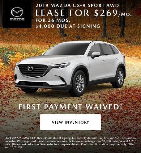New 2019 Mazda CX-9 Sport