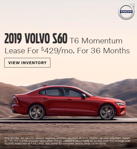 New 2019 Volvo S60 T6
