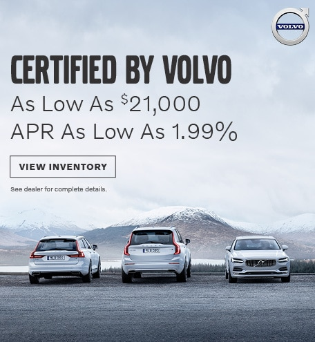 Certified by Volvo