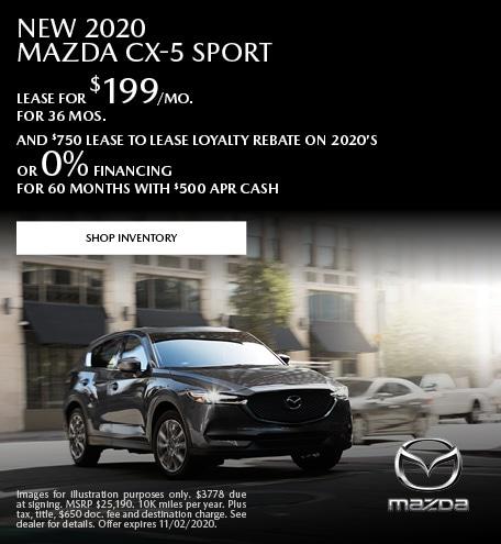 2020 - CX-5 - October