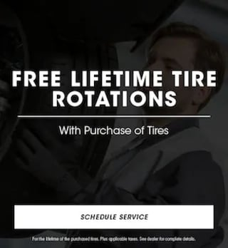 Free Lifetime Tire Rotations