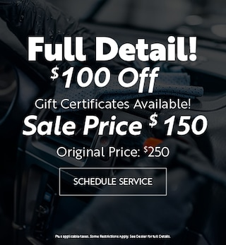 Black Friday Full Detail - Gift Card - Cont.
