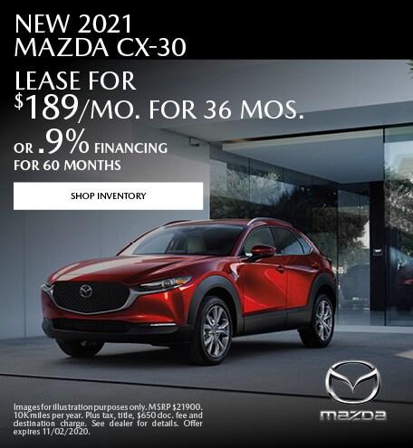 2021 - CX-30 - October