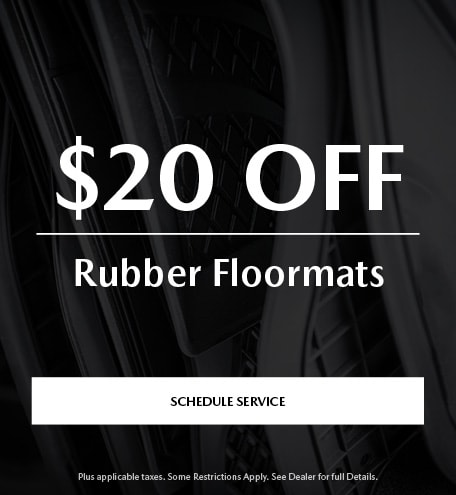 $20 Off Rubber Floormats