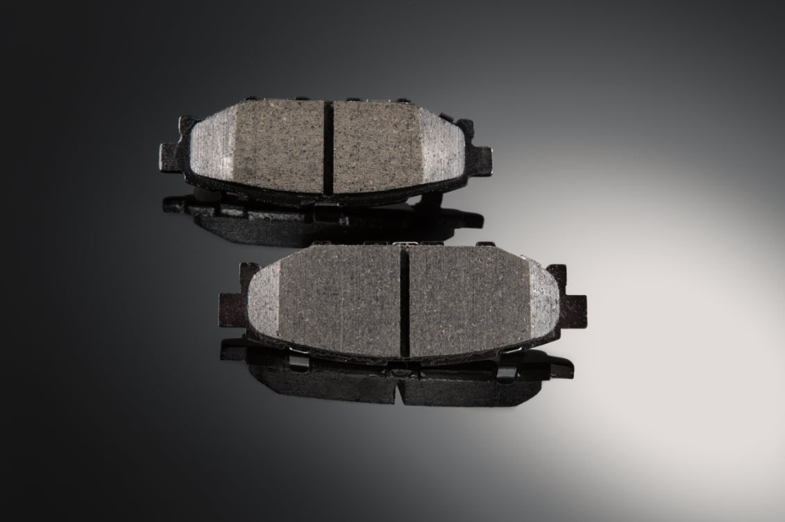 Image of Genuine Subaru Brake Pad versus Aftermarket brake pad