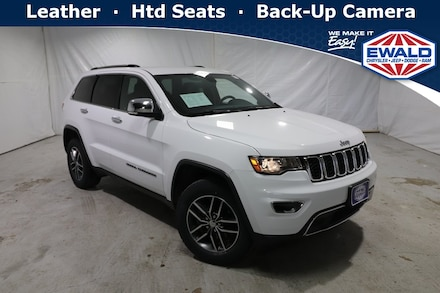 2018 Jeep Grand Cherokee Limited 4WD Sport Utility Vehicles
