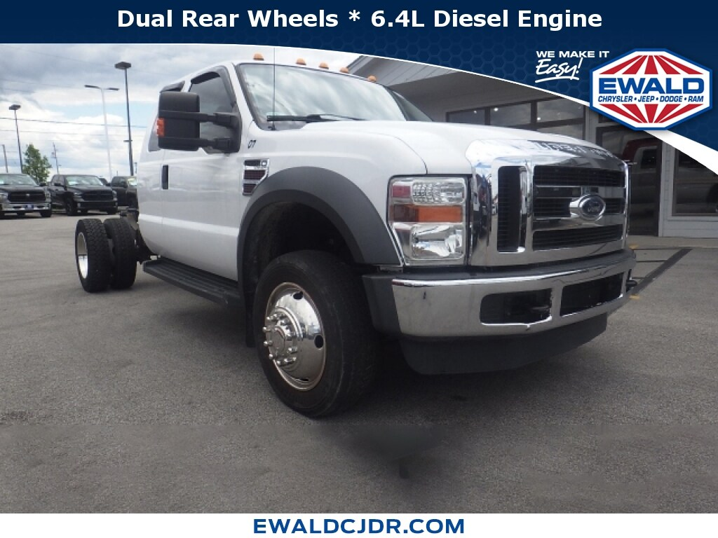 2009 Ford F-450sd XLT 2WD Light Duty ChassisCab Trucks
