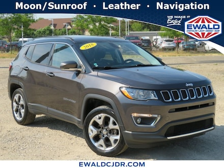 2018 Jeep Compass Limited 4WD Sport Utility Vehicles