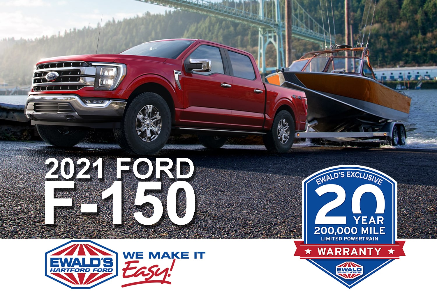 2021 Ford F-150 at Ewald's Venus Ford