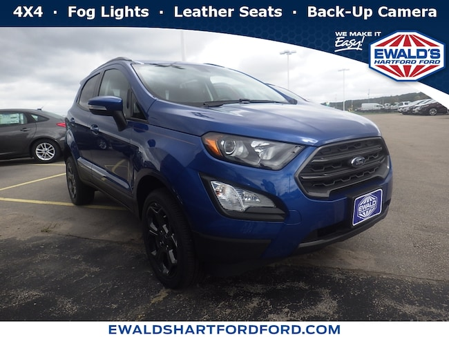 2018 Ford EcoSport SES 4WD Sport Utility Vehicles