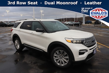 2021 Ford Explorer Limited 4WD Sport Utility Vehicles