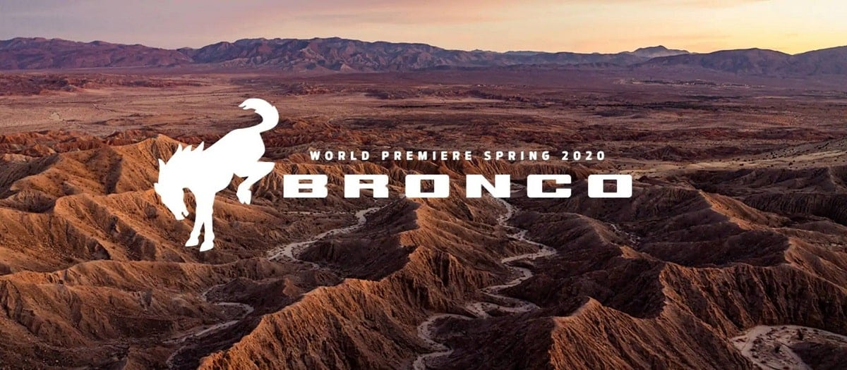 World Premier Spring 2020 - BRONCO