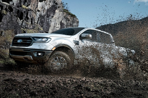 2020 Ford Ranger Mudding