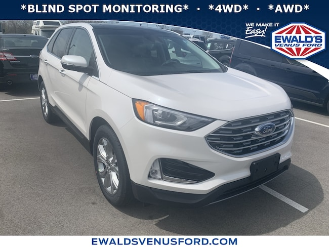 2019 Ford Edge Titanium 4WD Sport Utility Vehicles