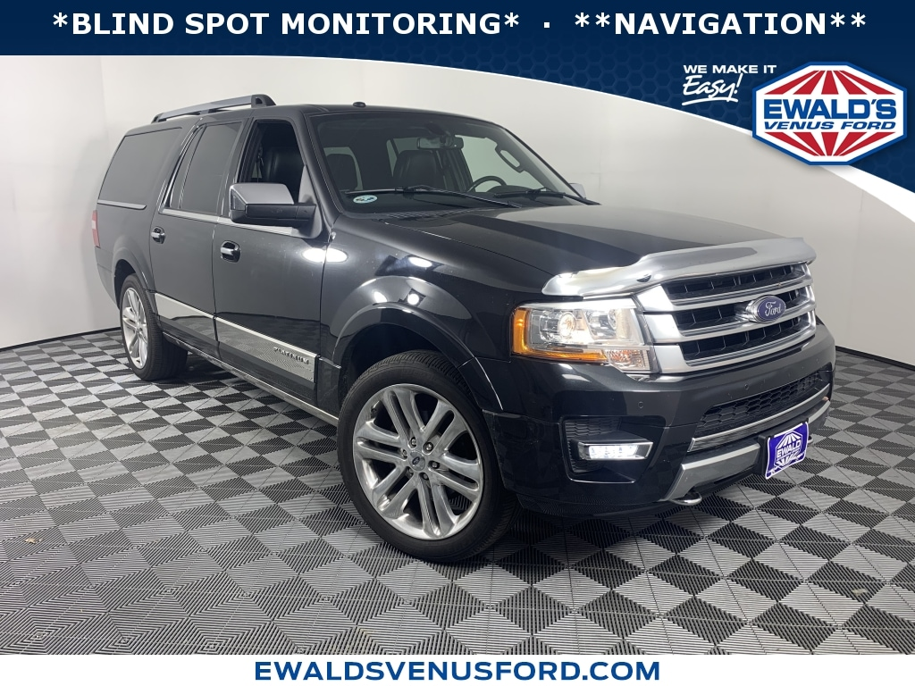 2015 Ford Expedition EL Platinum 4WD Sport Utility Vehicles