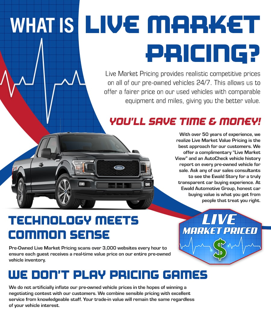Live Market Pricing Ewald S Venus Ford Llc