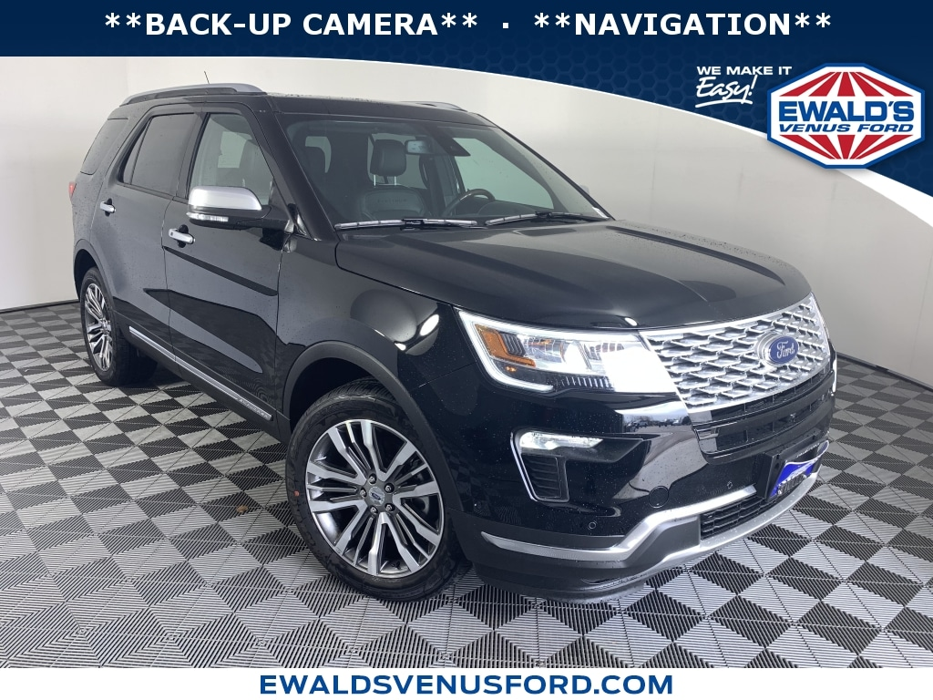 2018 Ford Explorer Platinum 4WD Sport Utility Vehicles