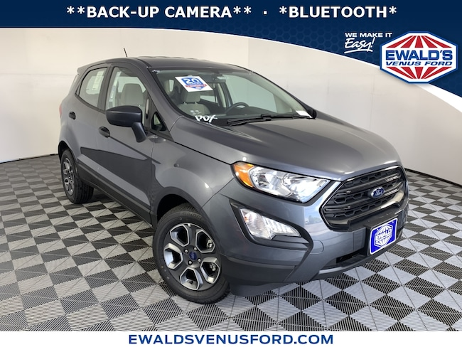 2019 Ford EcoSport S 2WD Sport Utility Vehicles