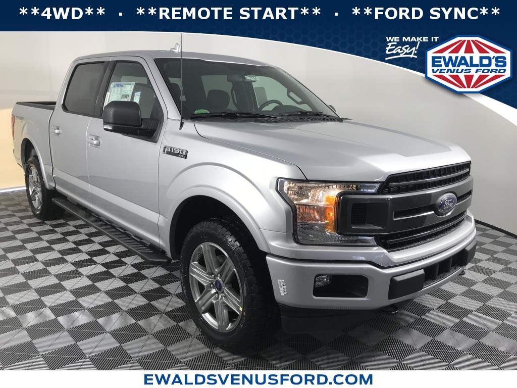 2018 Ford F-150 XLT 4WD Standard Pickup Trucks