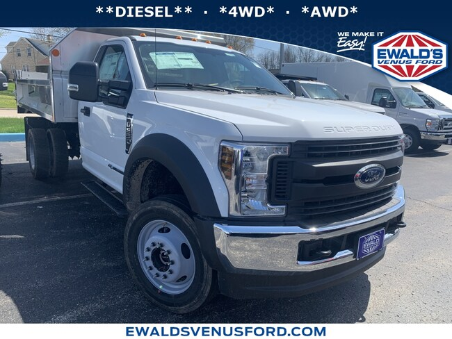 2019 Ford Super Duty F-550 DRW 4WD Light Duty Chassis Cab Trucks