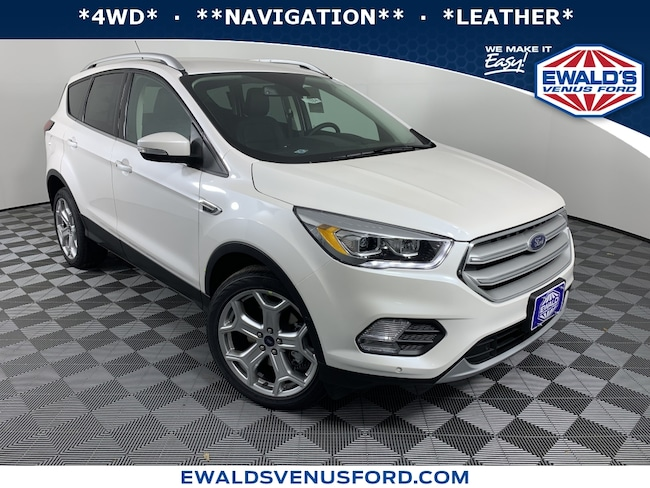 2019 Ford Escape Titanium 4WD Sport Utility Vehicles