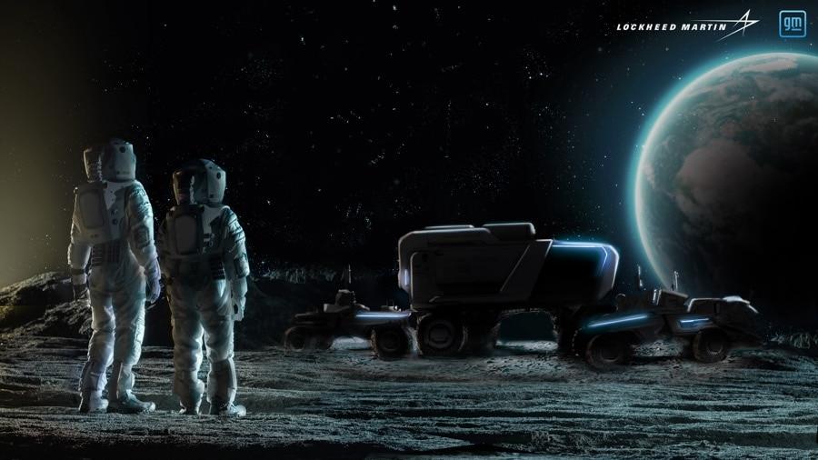 GM Lockheed Martin New Lunar Vehicle