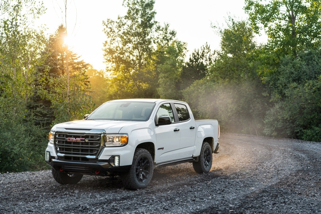2021 GMC Canyon AT4 Off-Road Performance Edition White