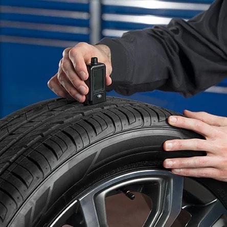 Tire Measuring Depth Device Service