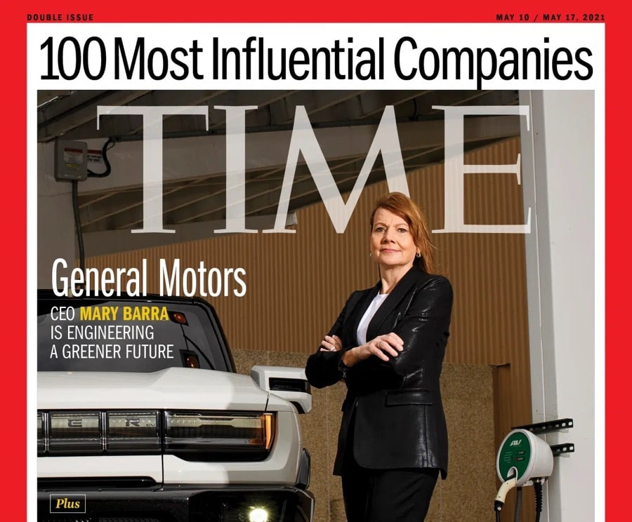 Time100 Most Influential Companies cover GM CEO Mary Barra