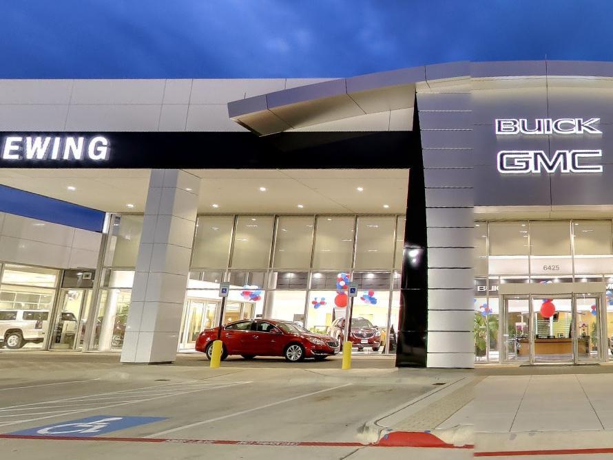 Ewing Buick GMC Dealership Front