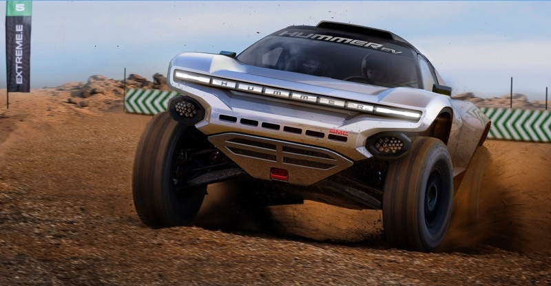 GMC HUMMER EV Extreme E Off-Road Racing