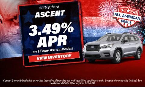 July 2019 Ascent Finance Offer