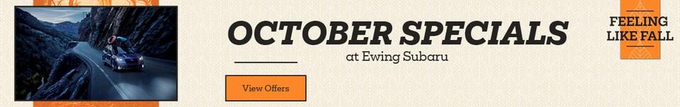 October New Specials