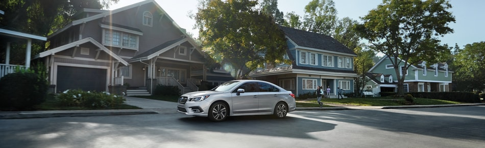 2021 White Subaru Legacy Sedan