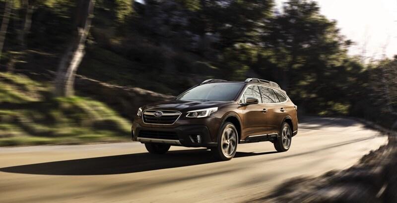 2021 Subaru Outback Brown