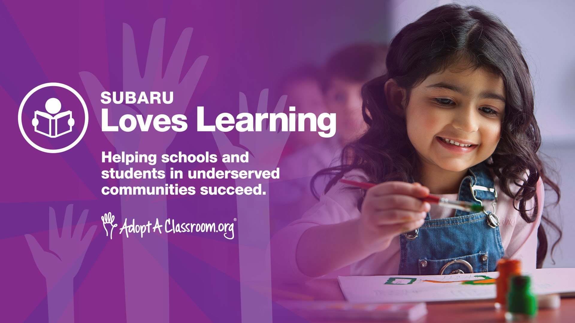 Subaru Loves Learning August 2021 Campaign