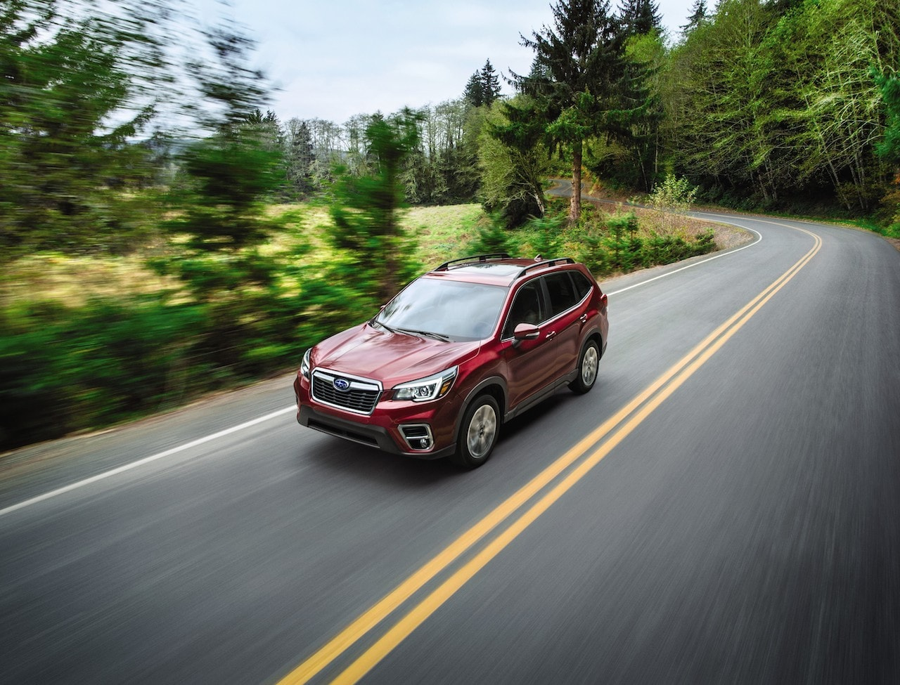 2021 Subaru Forester Red Forest