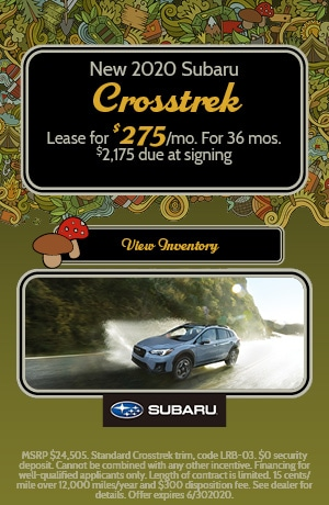 June 2020 Subaru Crosstrek Lease